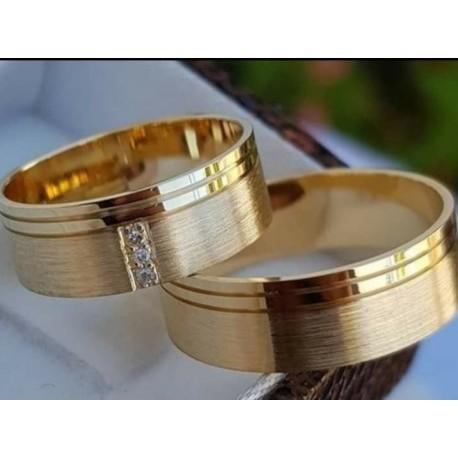 Argollas de matrimonio Oro 18k