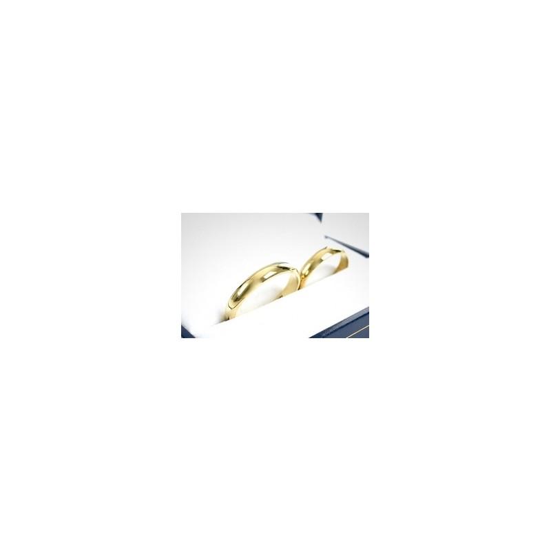 e0dc92841b50 Descripción  par de argollas de matrimonio 8 gramos confeccionadas a mano  en Oro amarillo de ...