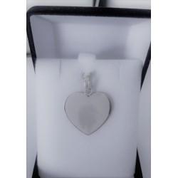 Medalla de Plata Modelo corazon