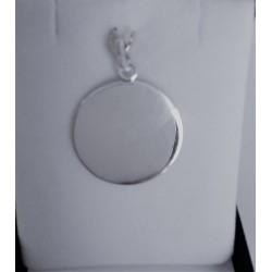 Medalla de Plata Modelo redonda