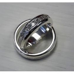 Argollas de Matrimonio En Plata