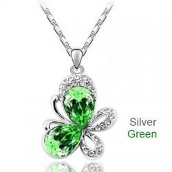 Colgante de Cristal austriaco color verde