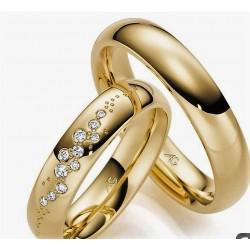 Argollas de Oro Modelo Amore