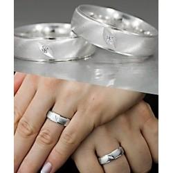 Argollas de Matrimonio en Plata fina Juntos