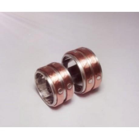 Argollas de Matrimonio diseño Cinturón de Orion