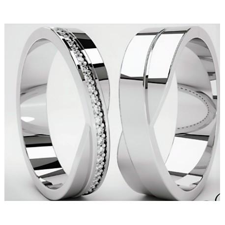 Argollas De Matrimonio Fabricadas En Plata Chilena Fina 950