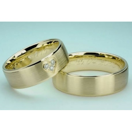 Argollas de Matrimonio en Oro 18k